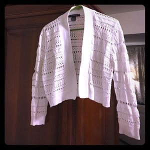89th & Madison Sweaters - 🌷Pretty woven lace Cotton Cardigan