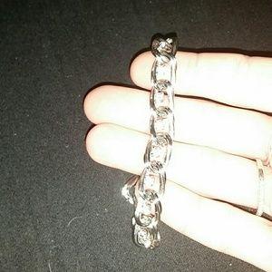 Jewelry - *Sterling Silver bracelet w/CZ*