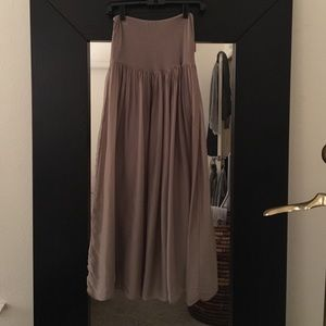 Dresses & Skirts - Italian Silk Maxi Skirt