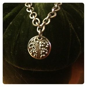 Lois Hill Jewelry - Lois Hill filigree Sterling silver necklace