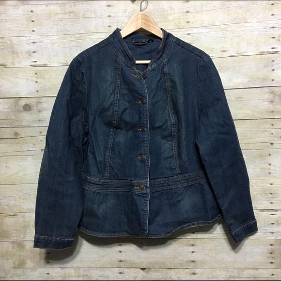 326c3a1c07a a.n.a Jackets   Blazers - a.n.a plus size women s denim peplum jacket