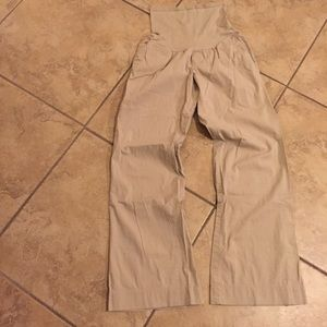 GAP Pants - Gap maternity khaki pants slacks size 4