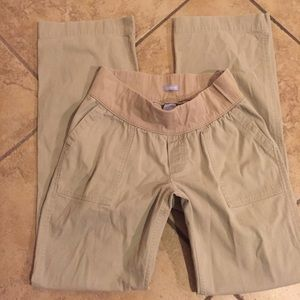 "GAP Pants - GAP maternity khaki pants size 6 long 33"" inseam"