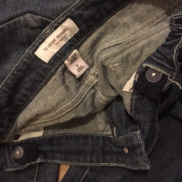 Liz Lange Jeans - 💋FINAL SALE💋Maternity straight leg jeans size 4