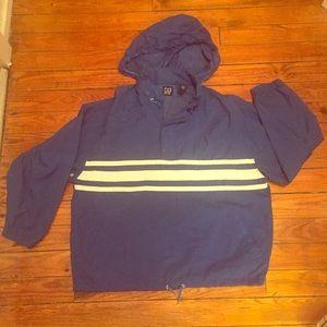 GAP Other - RARE 90's Vintage Gap Royal Blue/White Windbreaker