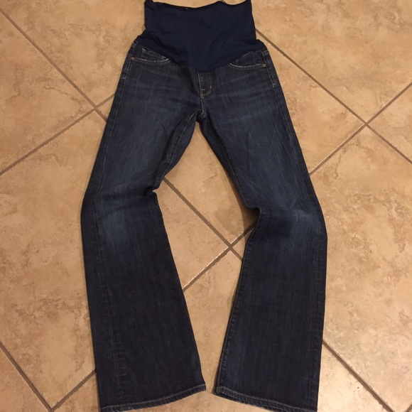 Citizens of Humanity Jeans - Citizens of humanity maternity jeans damaged panel