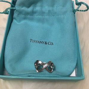 Tiffany & Co. Jewelry - Authentic Tiffany ring 4.5 - double heart