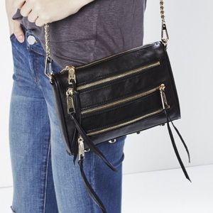 Rebecca Minkoff Handbags - Rebecca Minkoff Black 5 Zip ✨