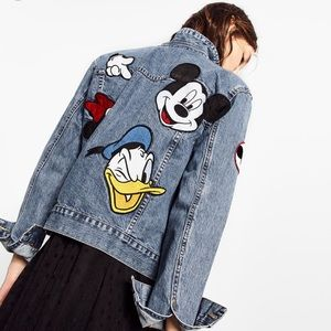 Zara Jackets & Blazers - Denim Disney Mickey jacket!