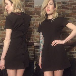 Vintage 1960's button back scooter dress