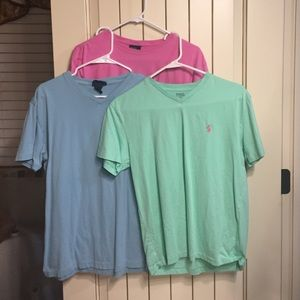 Ralph Lauren Other - 3 Ralph Karen polo tees.  Men's size small