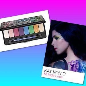 Kat Von D Other - 💄 Kat Von D Mi Vida Loca Eyeshadow Palette