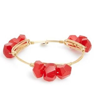 Bourbon and Bowties Jewelry - Bourbon and Boweties Triple Stack Bracelet, Red