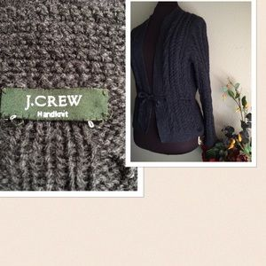 J. Crew Sweaters - 🆕 J. Crew Handknitted Hand Knit Wool Sweater