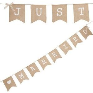 Other - Just Married banner
