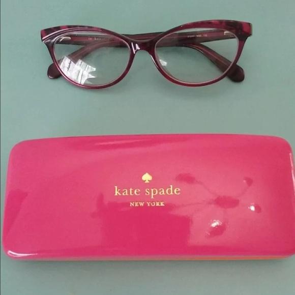 9103e862692 kate spade Accessories - Kate Spade Steffi Pink Animal RX Eyeglasses