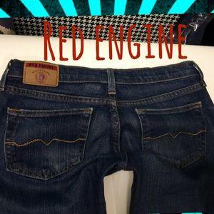 red engine Denim - Red Engine women's denim jeans BOOTCUT size 26