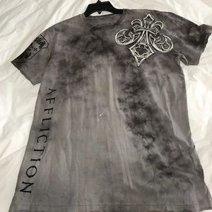 Affliction Other - AFFLICTION! Rare Mayweather Vs. Mosley Shirt!