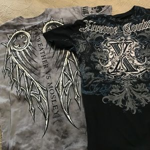 Affliction Other - AFFLICTION! 2 x $20! Mayweather Vs. Mosley Shirt!