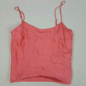 Victorias secret Silk pajama top camisole slip