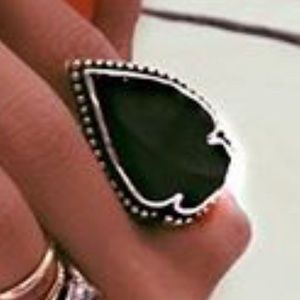 ISO: Pamela Love Jasper ring in size 7, black.