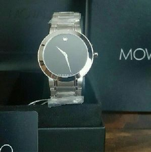 Movado Other - NWT Movado $1,000 stainless watch(Firm Price)