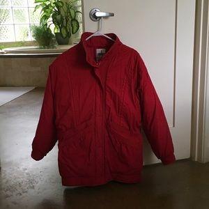 Warm down winter coat