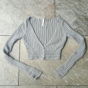 Lilu Tops - Lilu knit Shrug Sweater