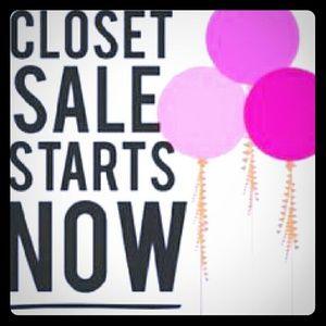 Other - 💕❤🌸 Black Friday Closet Sale🌸❤💕