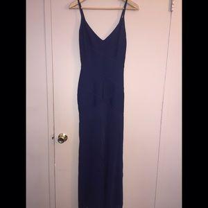Herve Leger Dresses & Skirts - Navy Herve Leger Fitted Evening Dress