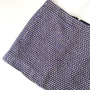 J. Crew Dresses & Skirts - J Crew Postage Stamp Mini Skirt in Navy Tweed