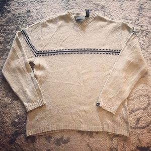 Quiksilver Other - Men's muted gray Quiksilver wool sweater