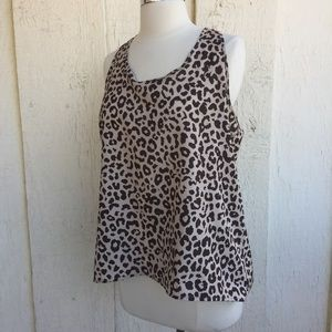Brown Leopard Top
