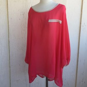 Tops - Light and Bright Long Top