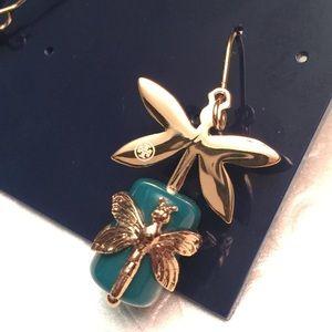 Tory Burch Jewelry - Tory Burch Dragonfly Drop Earrings
