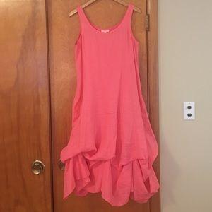 Eileen Fisher Convertible Linen Dress - S