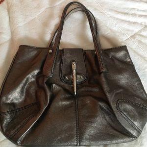 Fay Handbags - Metallic grey bag