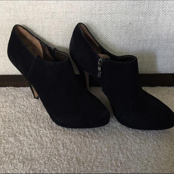 eeaafed51 Sam Edelman black suede high heel booties 9. M 5884eb658f0fc4c68e0f8b74