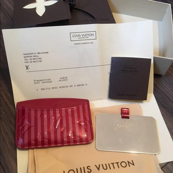 c29155bd7e77 Louis Vuitton Accessories - Louis Vuitton mirror with card holder