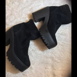 Shelby Shoes - Shelby Wedged Boots