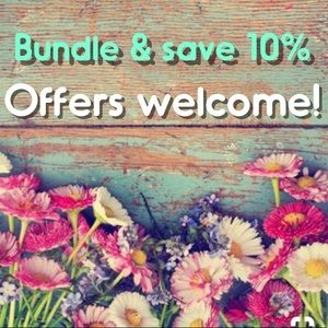Other - Save $ ~ Bundle items to save 10%!