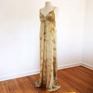 Gypsy 05 Alex Silk Tie-Dye Maxi Dress (S)