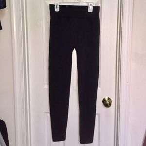 Boutique Black Fleece Lined Leggings