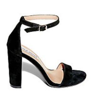 Steve Madden Shoes - Steve Madden black ankle strap heels