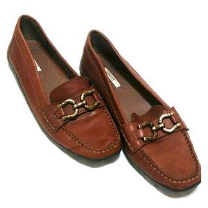 Geox Shoes - Geox Donna Roma B Women's Loafer Cognac Leather