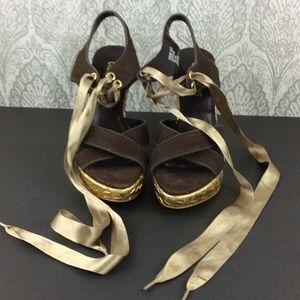 Colin Stuart  Shoes - COLIN STUART Wedge lace up shoe