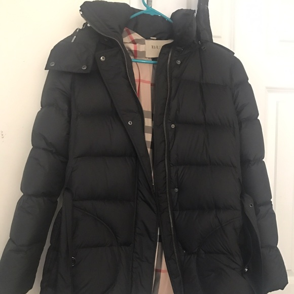 79fb4d24f Burberry Puffer Jacket Women's Size Large
