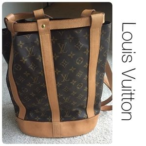 Louis Vuitton Handbags - Authentic LOUIS VUITTON Randonnee Backpack