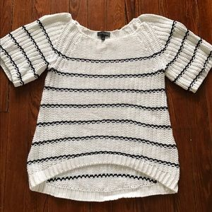Short- Sleeved sweater from The Limited. XS.