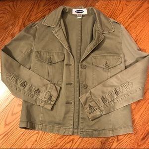 Old Navy Military Style jacket - XS